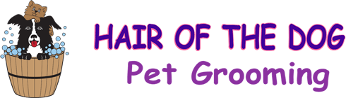 Hair of the Dog Pet Grooming Logo